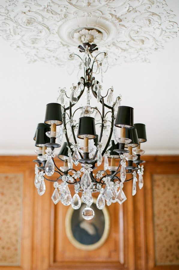 Black Steel Chandelier Fos Lighting