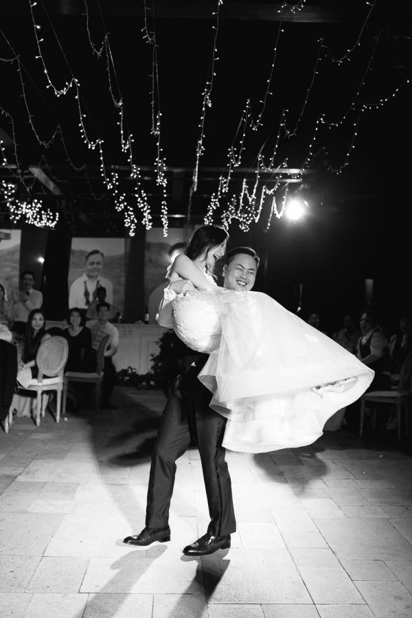 luxury bulgari bali destination wedding reception dance