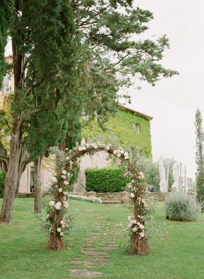 Borgo Bastia De Creti Wedding Ceremony