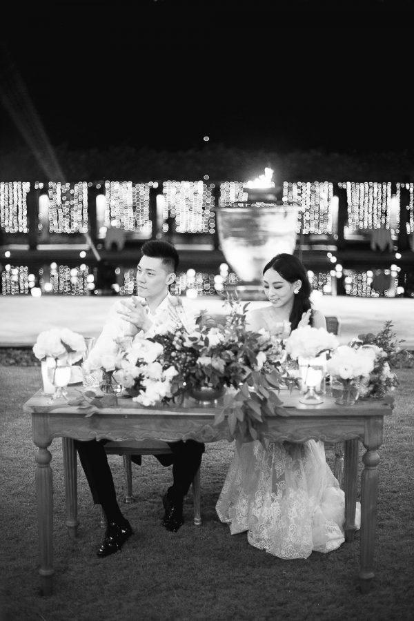 Aman Bali Destination Wedding Reception