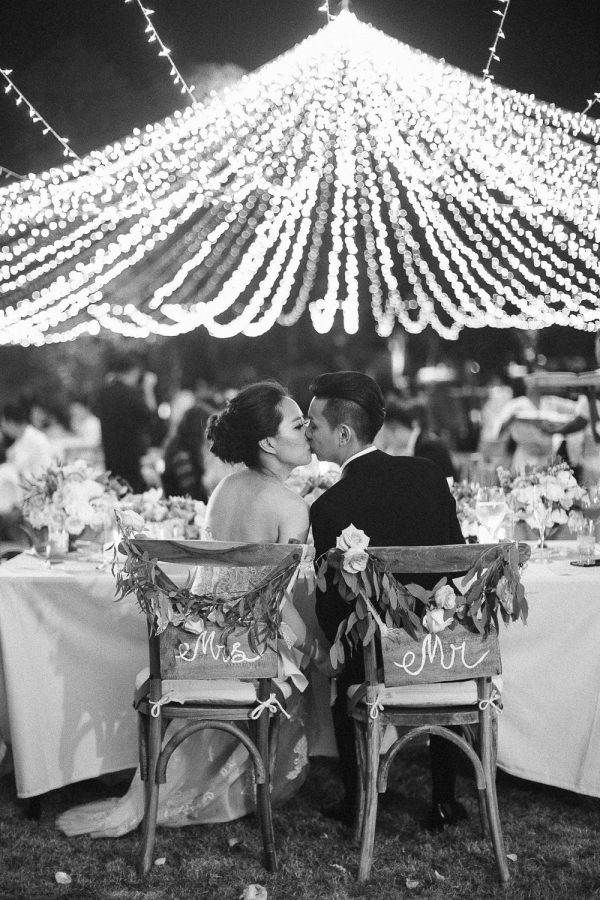 Alila Villas Uluwatu Bali Wedding Reception