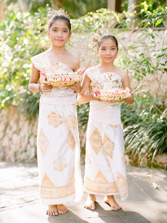 Bulgari Bali Destination Wedding Ceremony