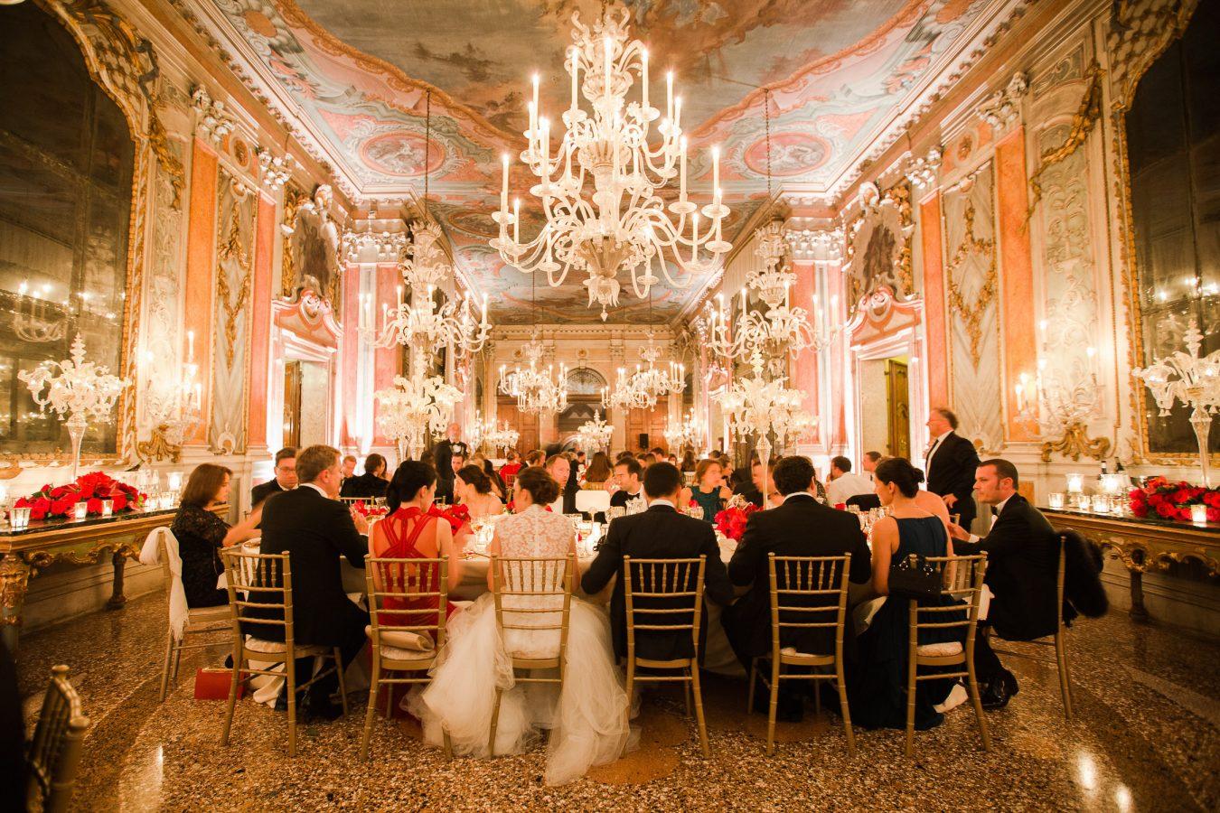 Masquerade Wedding Reception Venice Italy