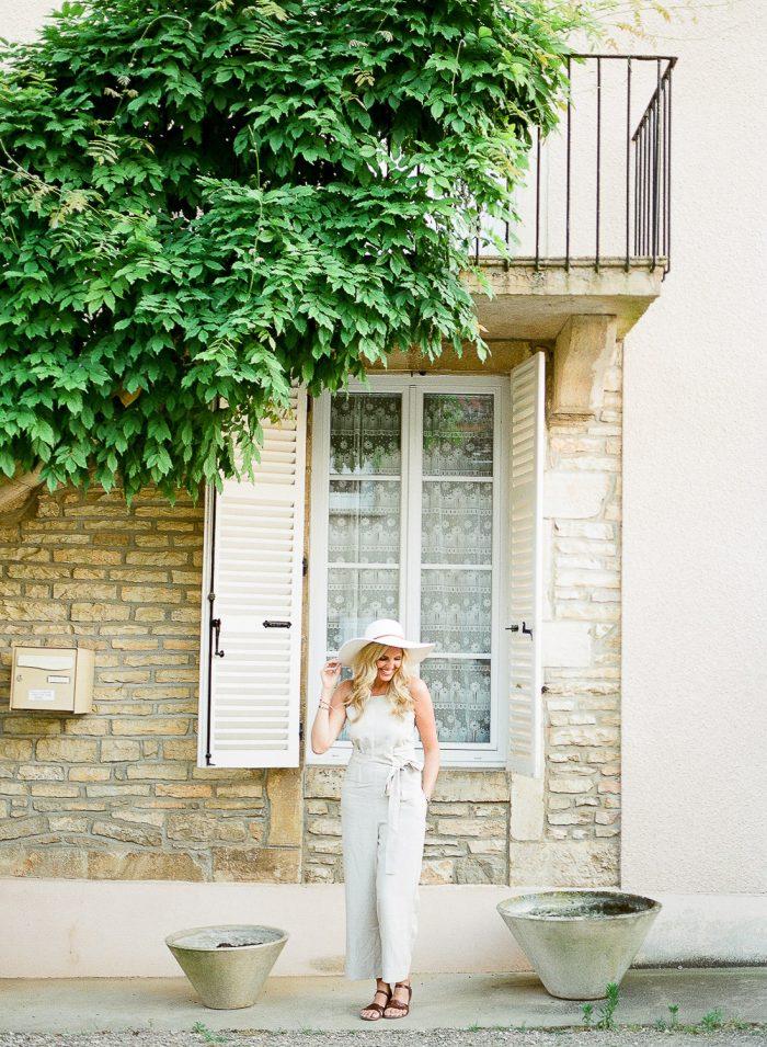 romantic engagement shoot meursault burgundy france
