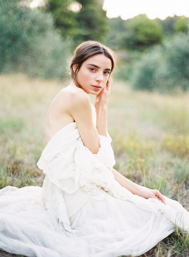 romantic french destination wedding bridal inspiration