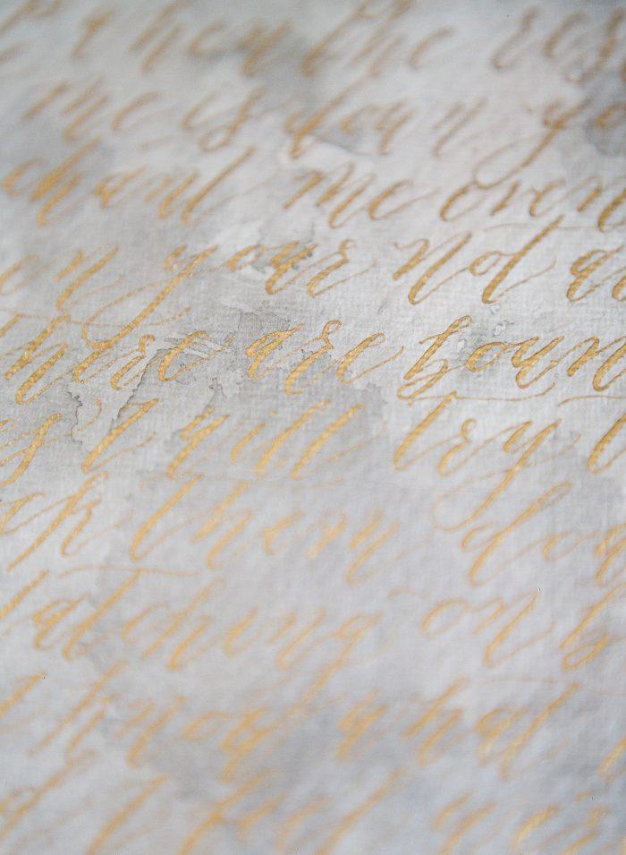 Michaela McBride Calligraphy