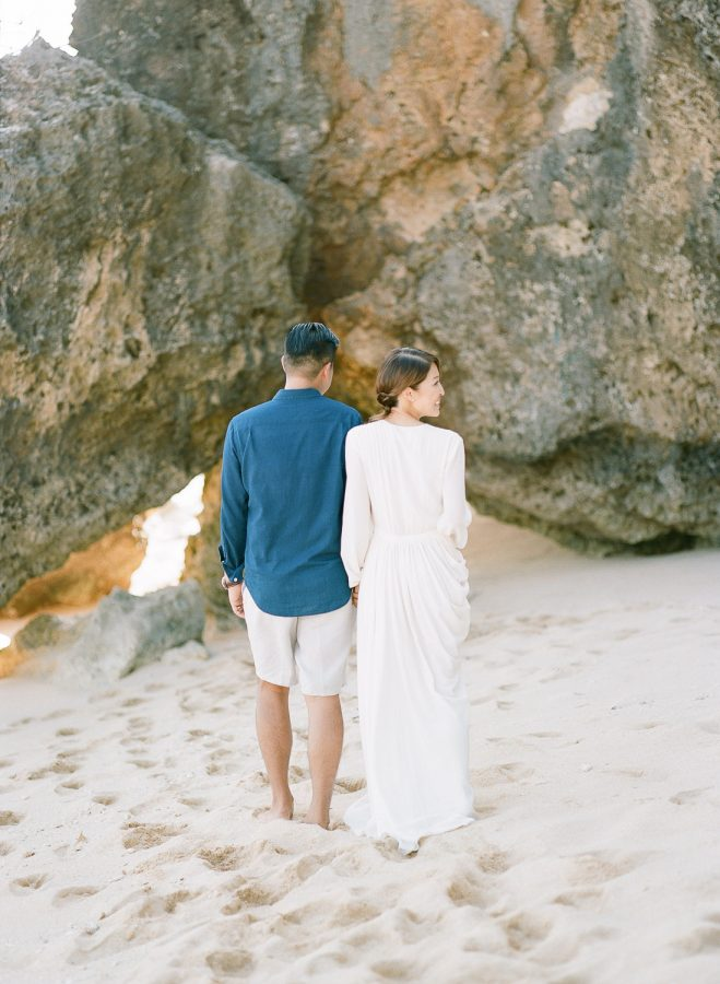 Bulgari Beach Romantic Pre Wedding Photos