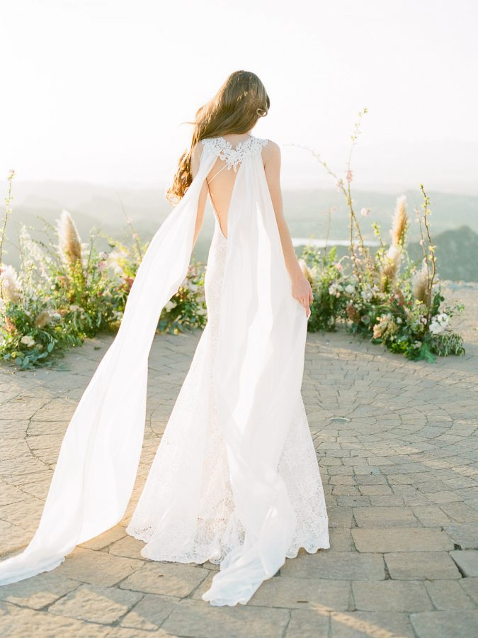 Wedding Ceremony at Malibu Rocky Oaks Wedding Venue