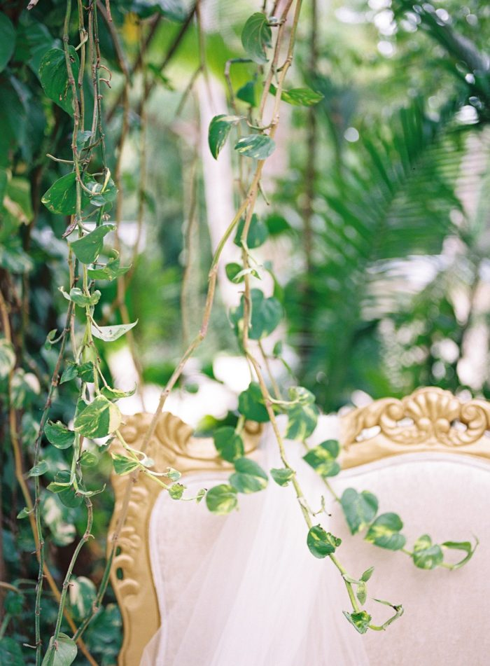 romantic tropical wedding veil key largo