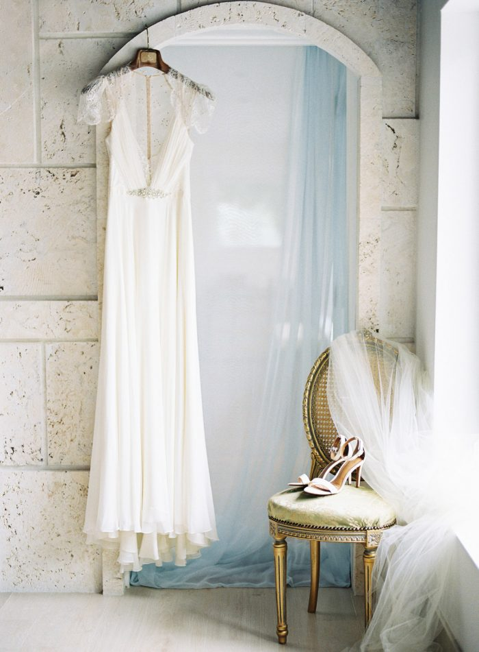 romantic jenny packham wedding dress
